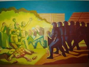 Ana Gzi: '' Za ovaj narod, za sva vremena '', 100 x 150 cm