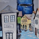 Sheena in my street, 50 x 40 cm, ulje na platnu, 2013.