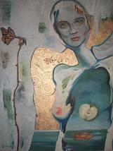 Sve o Evi, 72 x 60 cm, ulje i akrilik na platnu, 2012.