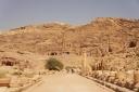 Petra - pogled na kraljevske grobnice