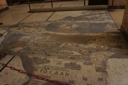 Prvi kartografski prikaz Svete zemlje i okolnog područja u Crkvi Sv. Georgija u Madabi