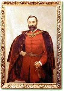 Bukovčev portret Izidora Kršnjavog, izvor: Wikipedija, Izidor Kršnjavi