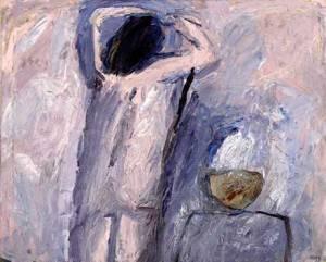 Đuro Seder, Dvoje, ulje na platnu