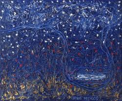 Boris Pecigoš, ''Monument'', akril na platnu