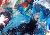 Denis Kaplan: Sanjarenja 12, akril na platnu, 70 x 50 cm