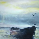 Ivana Kolić, ''SunLIGHT'', tempera na platnu