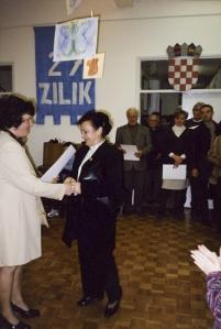 Vanja Krmpotic na ZILIK-u 2001.