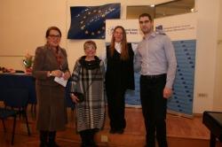 Renata Bačić, Antonija Cesarec, Ivana Kolić i Krešimir Radas, foto: Mateo Kolić