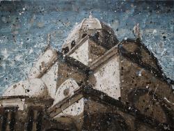 Krešimir Radas, ''Sveti naš Jakove'', akril na platnu, 60 x 80 cm
