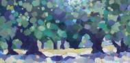 """Tatjana Kreštan, ''U mojoj duši"""", ulje na platnu, 30 x 60 cm"""