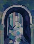 Tatjana Kreštan, ''Povratak I'', ulje na platnu, 24x30 cm