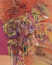 Svebor Vidmar, ''Razdor'', akril na papiru, 50x40 cm, 2011