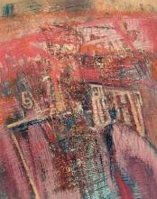 Svebor Vidmar, ''Lom'', akril na papiru, 50x40 cm, 2011