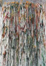 Svebor Vidmar, ''Vodopad'', tuš u boji na papiru, 100x70 cm, 1992