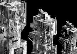 Svebor Vidmar, ''Distopija 2'', digitalna grafika na papiru, 50,1x69,5 cm, 2018