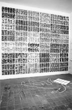 Svebor Vidmar, ''Face to face'', instalacija, 1997