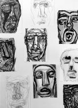 Svebor Vidmar, ''Face off'' - detalj 1, instalacija, 1998