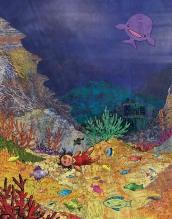 Svebor Vidmar, ilustracija za roman ''Šljapkove pustolovine'', digitalna grafika, 25,4x20 cm, 2016