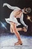 Marija Čingel, ''Na ledu'', akril na papiru, 90x60 cm