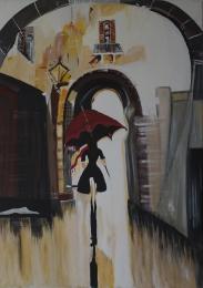 Snježana Šebalj, ''Toskana'', akril na platnu