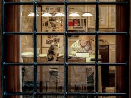 Čedomil Gros, ''Pažljivi promatrač'', fotografija, 30x40 cm