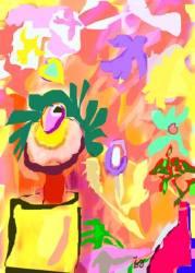 Jela Šare, ''Proljeće'', digital art