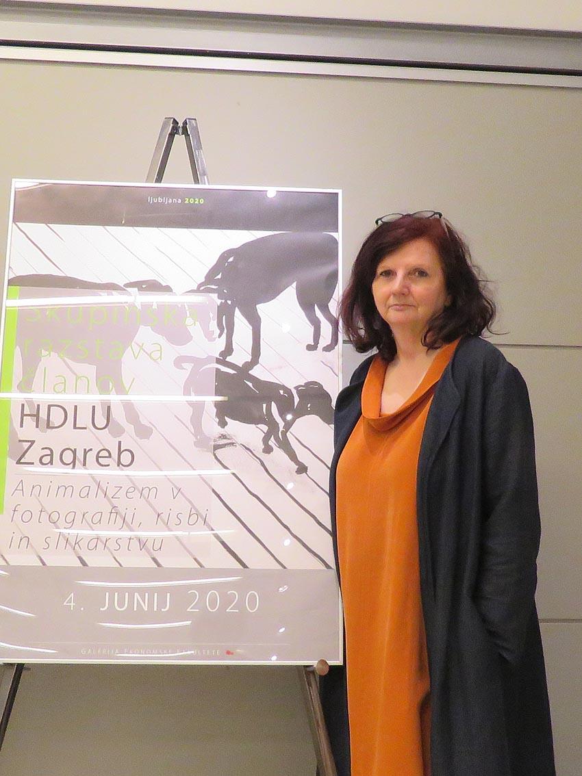 Slavica Zrakič, Galerija ekonomskog fakulteta Ljubljana