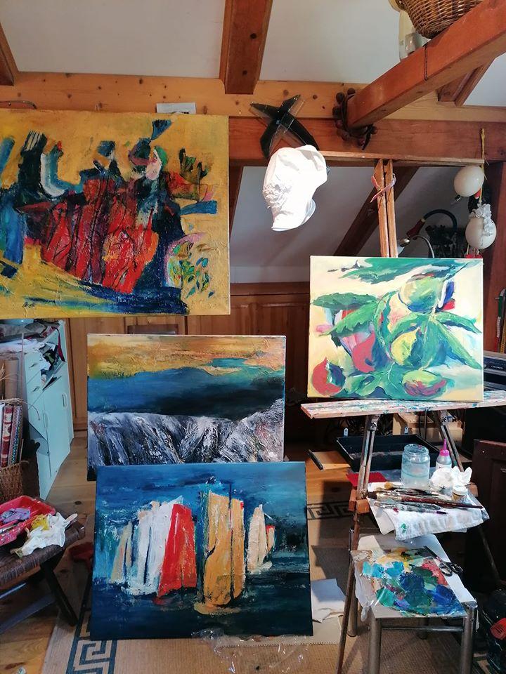 Ana Cerovski, ''Moj atelje''