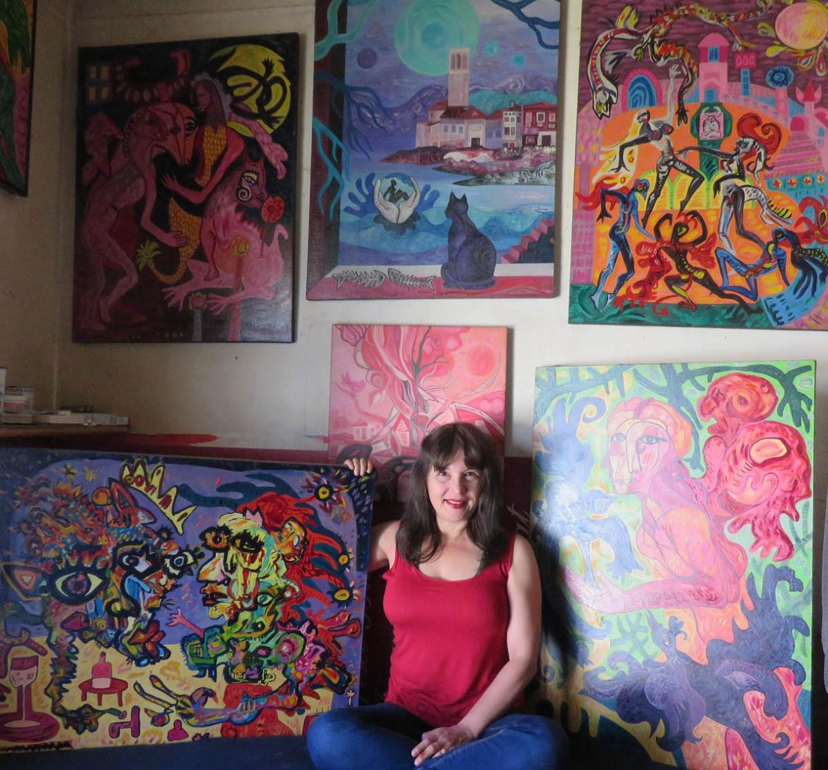 Krešimira Gojanović, ''Među slikama''