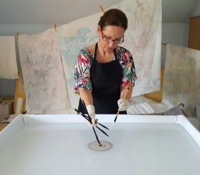 Marija Čingel, ''U ateljeu''