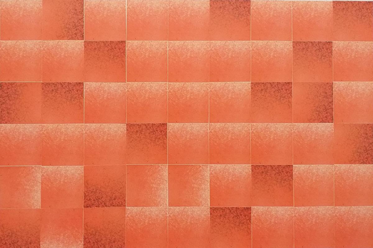 Adrijana Šuran, ''Crvena glazba'', kolaž na papiru, 30x47 cm