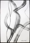 "Antonija Cesarec, ""Oslobođena misao"", tuš na papiru, 50x35 cm"
