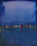Valentina Marđetko, ''Odrazi I'', akril na platnu, 30x24 cm