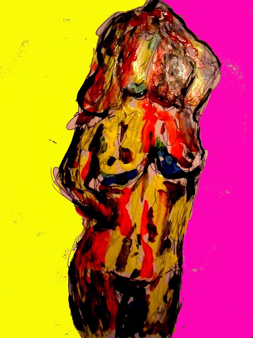 Andrej Zbašnik, ''Vid ljubavi'', digitalno slikarstvo, 30x21 cm