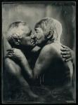 Robert Gojević, ''Ljubav (2)'', ambrotipija, 12x16,5 cm