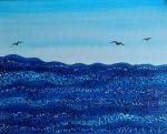 Adrijana Šuran, ''More'', akril na platnu, 30x24 cm