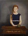 Anđelko Brkić, ''Kineski stol'', ulje na platnu, 50x40 cm