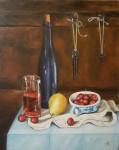 Anđelko Brkić, ''Mrtva priroda 1'', ulje na platnu, 50x40 cm