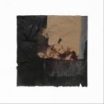 Ena Bajuk, ''Kolažna varijacija 4'', kolaž, 30x30 cm