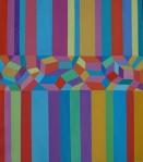 Josip Rubes, ''Abstraction'', ulje na platnu, 80x60 cm