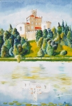 Juraj Jonke, ''Trakoščan'', ulje na platnu, 70x50 cm