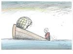 Slobodan Butir, karikatura 1, akvarel