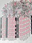 Tin Samaržija, ''Bez naziva 6'', crtež rapidografom, 70x50 cm