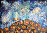 Zlatko Krstevski (MK), ''Distopia'', ulje na platnu, 80x100 cm