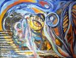 Zlatko Krstevski (MK), ''Dreamer'', ulje na platnu, 80x100 cm