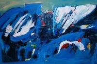 Ana Cerovski, ''Izgubljeni'', kombinirana tehnika, 50x70 cm