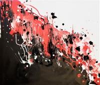 Rada Marković, ''Sile zemlje'', akril na platnu, 50x60 cm