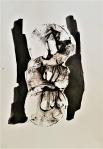 Rada Marković, ''Energija života'', tuš na papiru, 29x21 cm