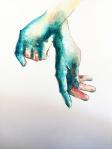 Silvia Golja, ''Longing'', akvarel na papiru, 35x25 cm