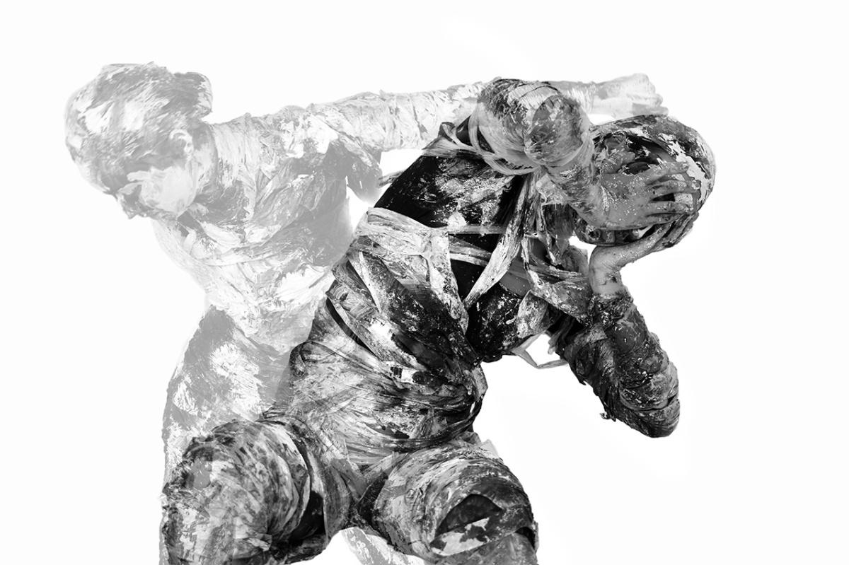 Silvia Golja, ''Mržnja 2'', iz serije ''Slika u pokretu'', fotografija
